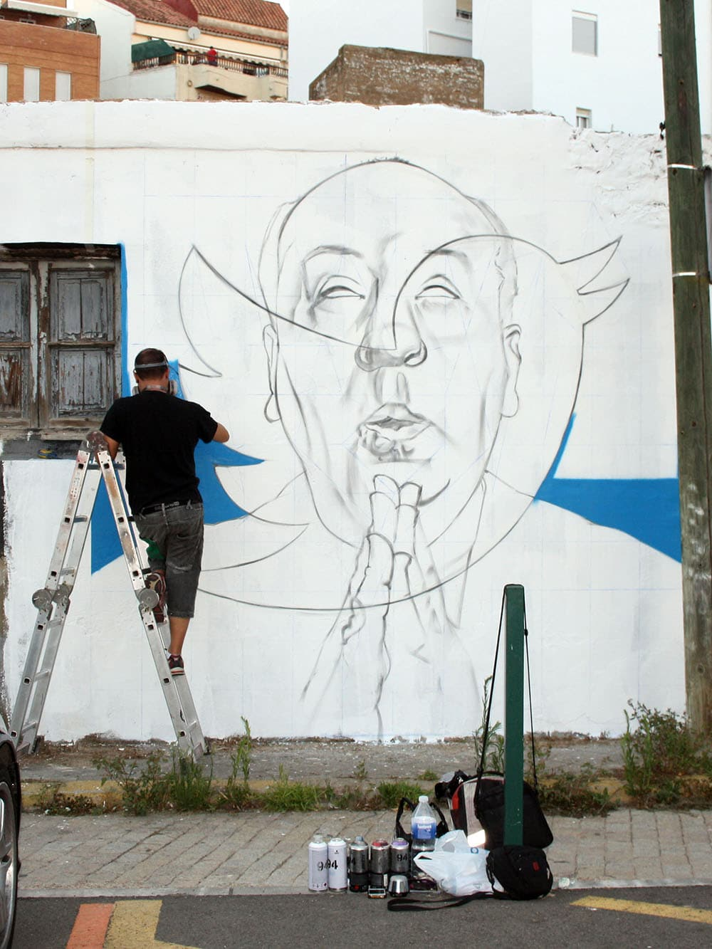 street art interview questions to MANOMATIC