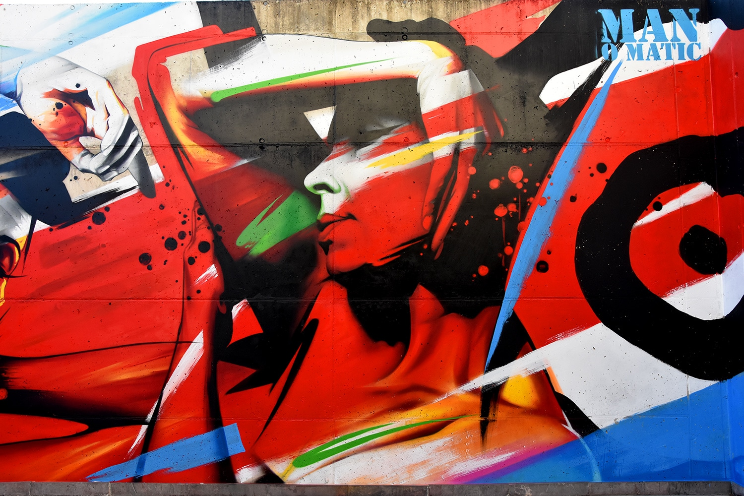 Contemporary mural art